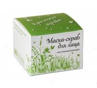 Маска для лица Восстанавливающая (Крымские травы)