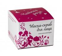 Маска для лица Омолаживающая (с лепестками чайной розы)
